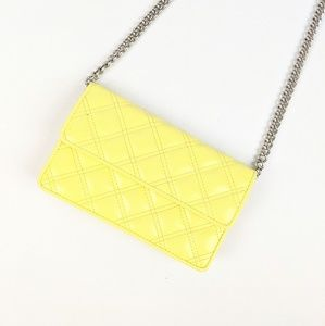Marc by Marc Jacobs Yellow Quilted Chain Purse